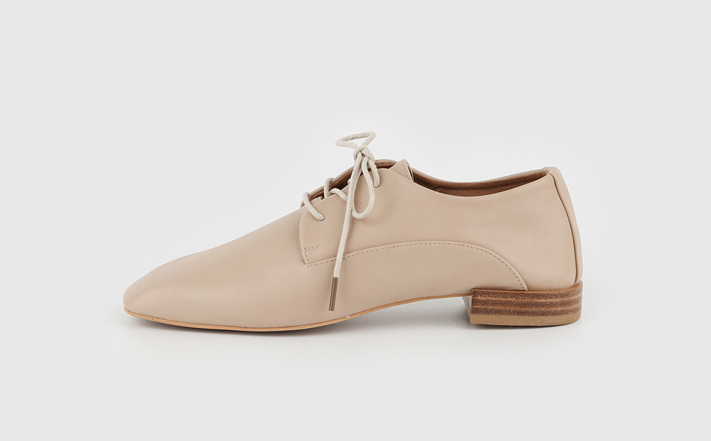 Melty lace-up loafers