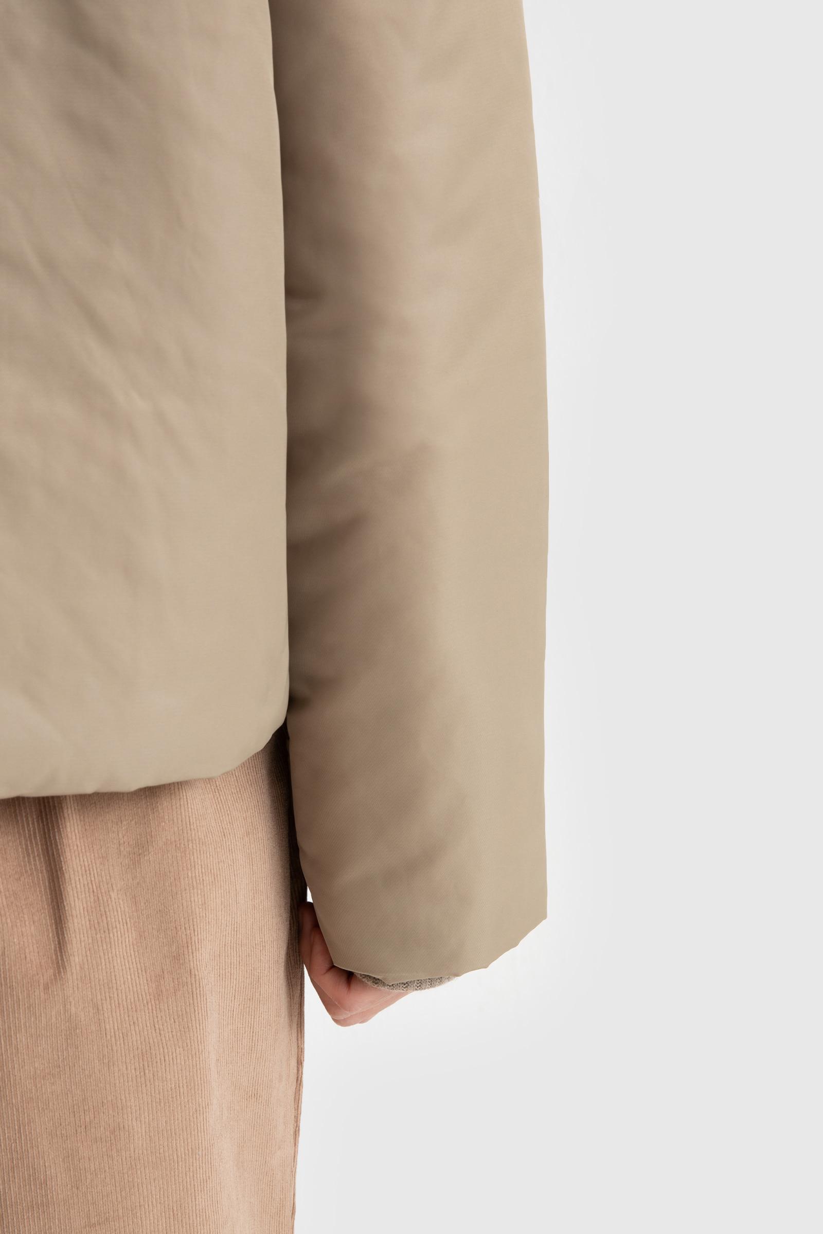 Rush fur point padded jumper