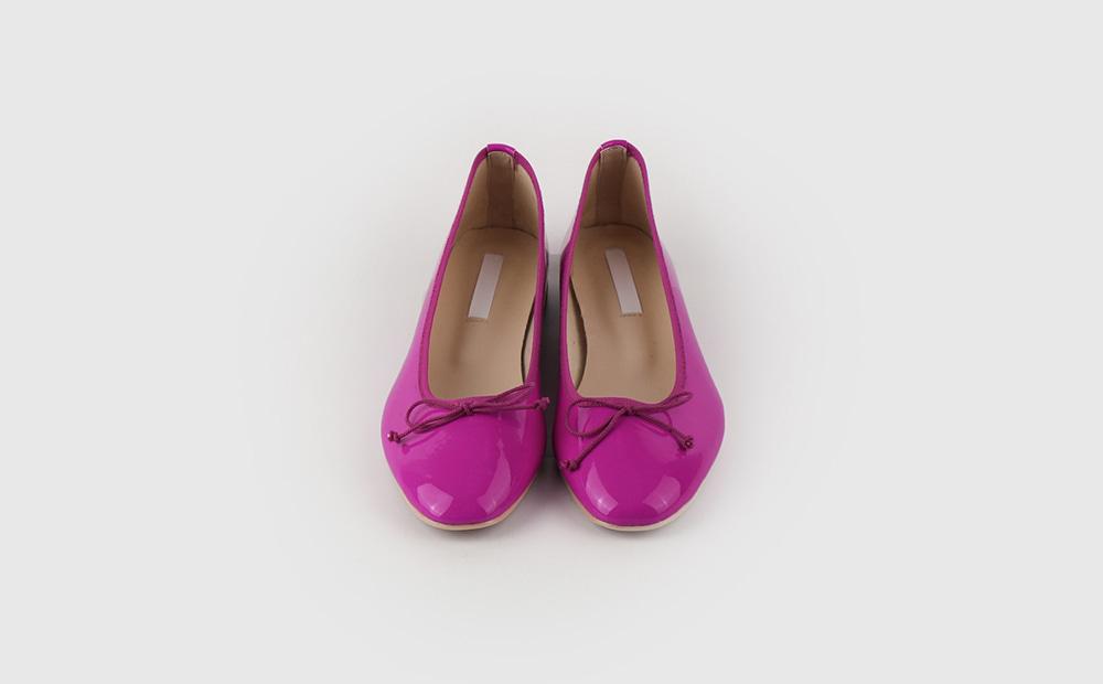Fran ribbon flat shoes