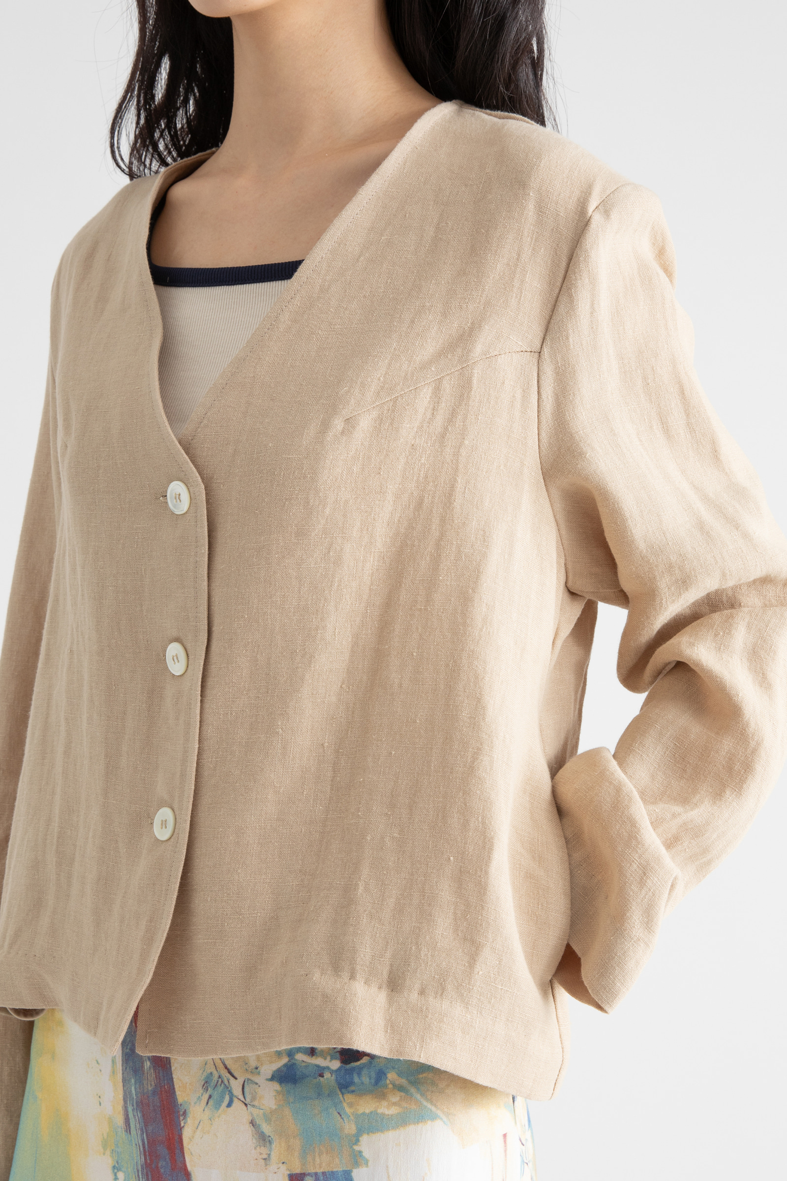 Simply Kararis Standard Linen Jacket