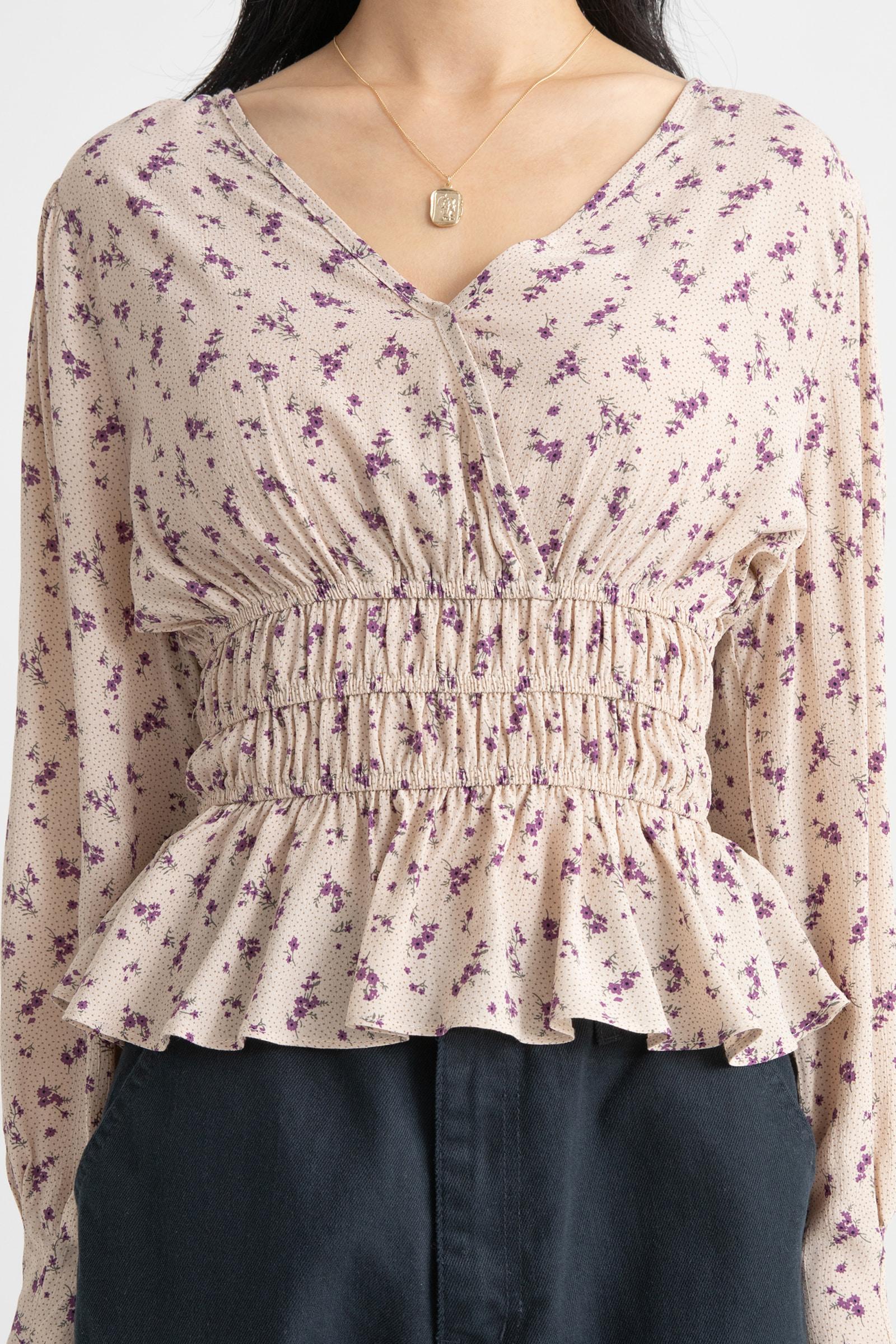 Joy floral blouse