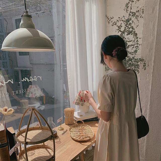 Pure cotton dress