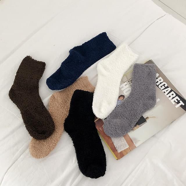 Berry Cozy Sleeping Socks