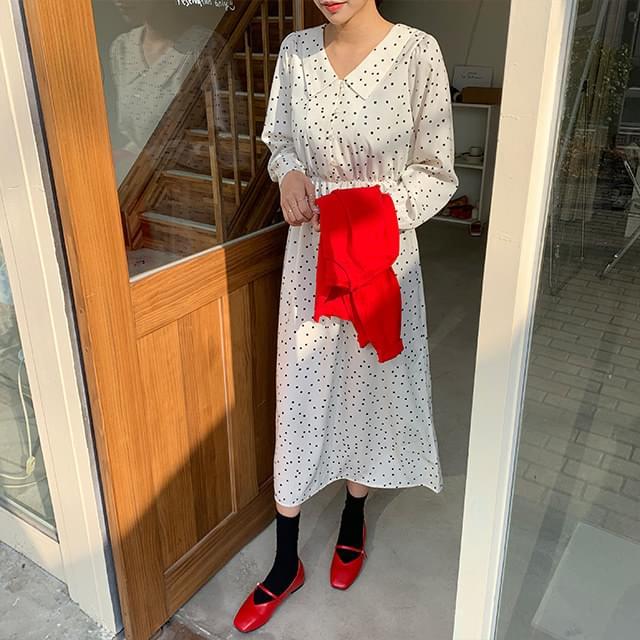 Eve dot dress