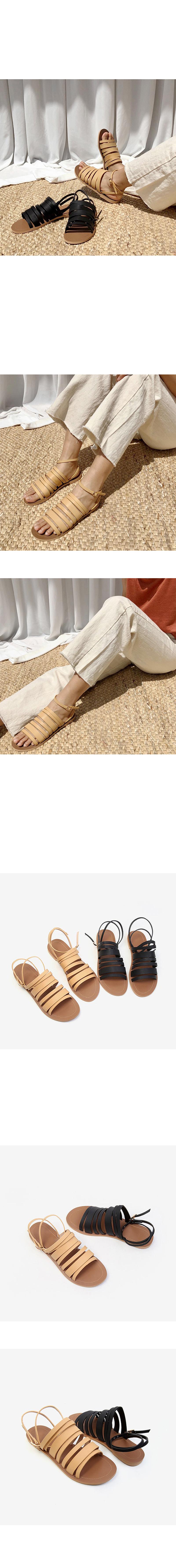 Layer sandals