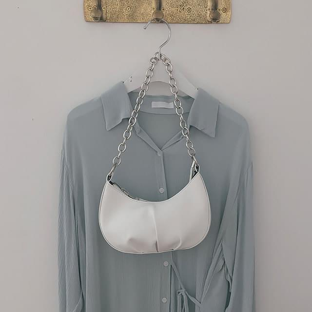 Round chain bag