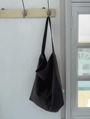 Natural cotton shoulder eco bag