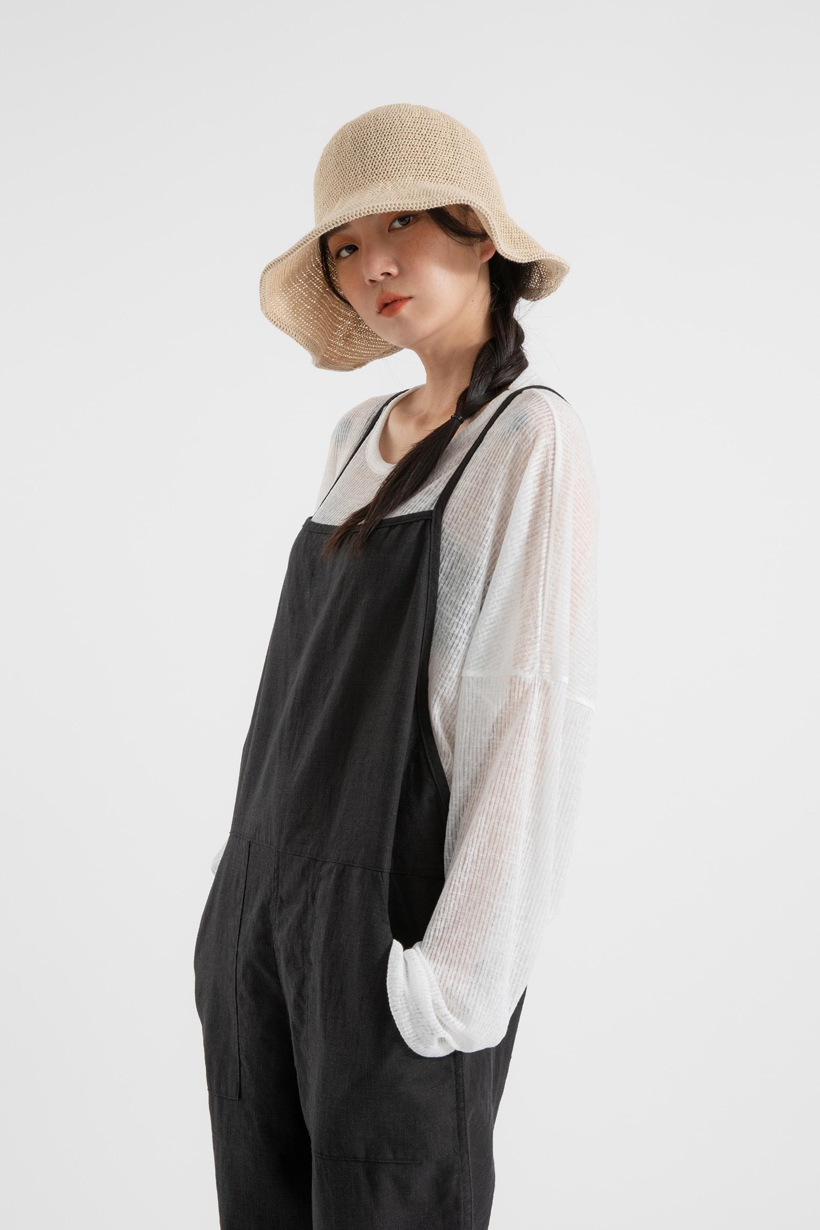 Farming linen jumpsuit