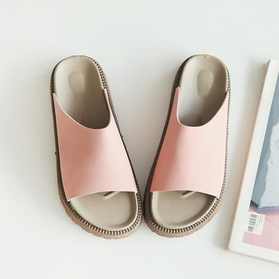Sekizu Velcro Slippers 4cm