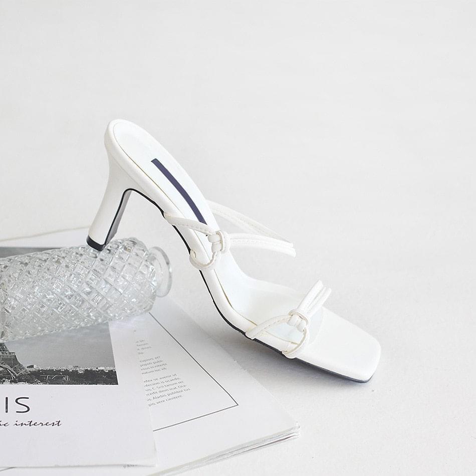 Nelpia Mule Slippers 7cm