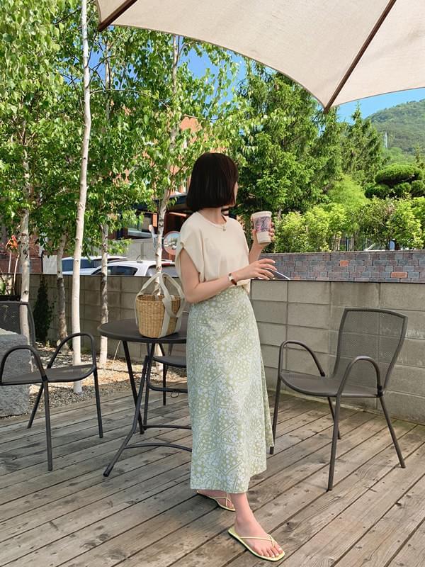 Paisley Long Skirt