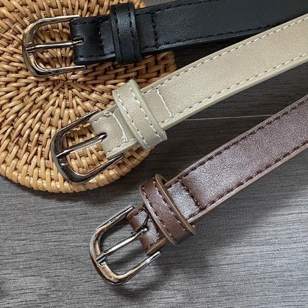 Nipaz leather belt