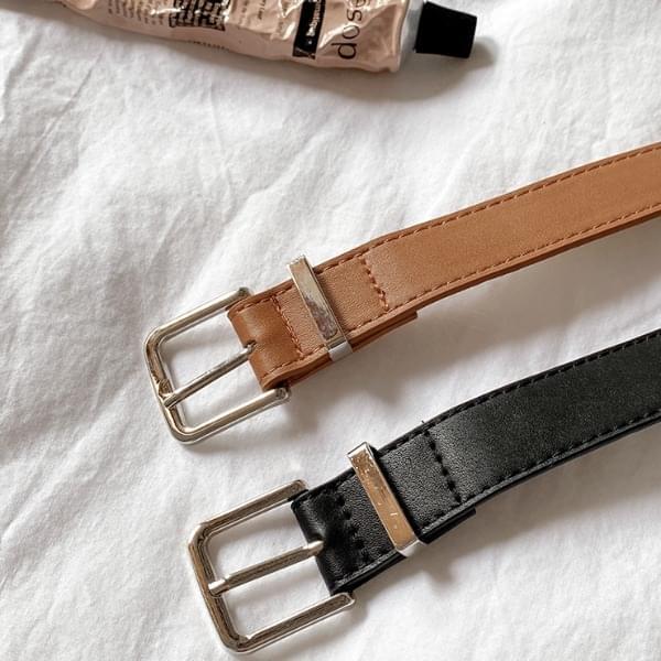 Seroni leather belt