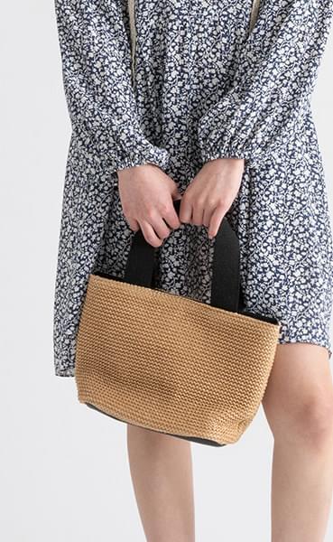 Tini Paper Weave Tote Bag