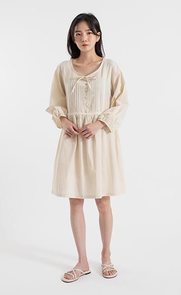 Lodge lace cotton midi dress
