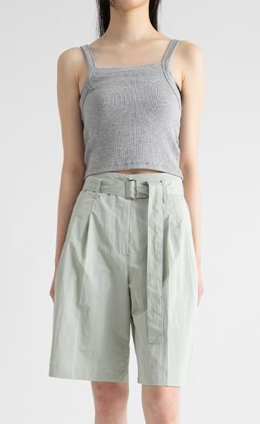 Dozen crispy belt shorts