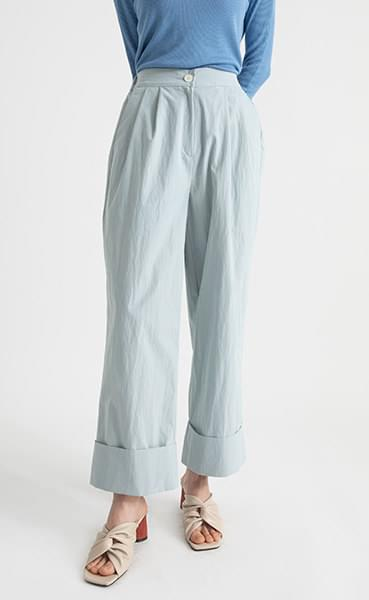 Roll-up point banding nylon pants
