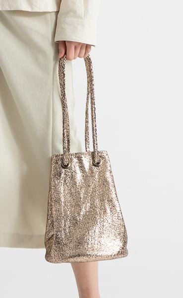 Glitter pouch bag