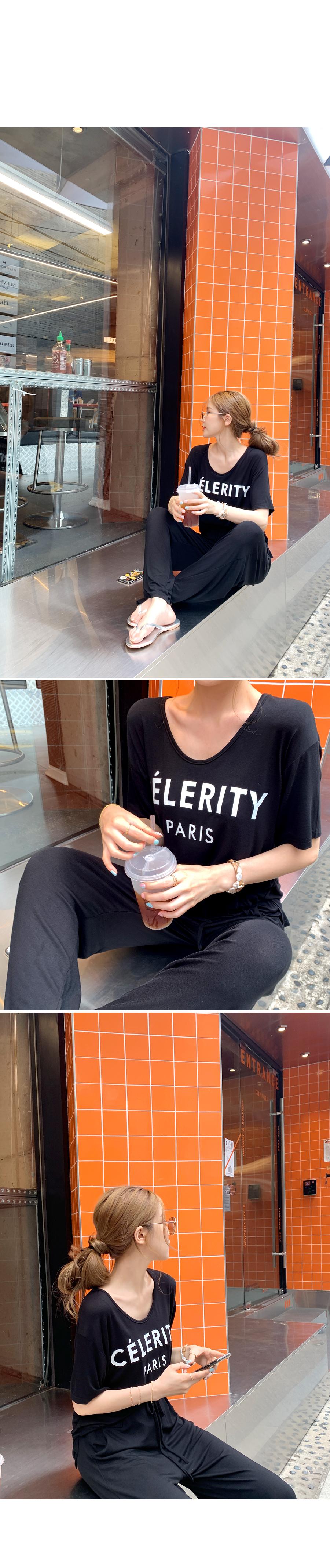 Celeb Mood Top + Pants SET