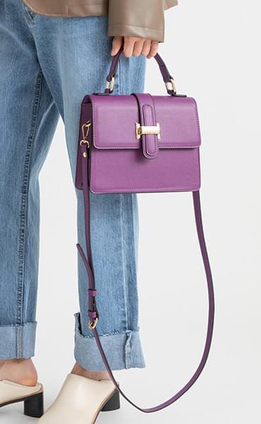 Diane gold two-way tote bag