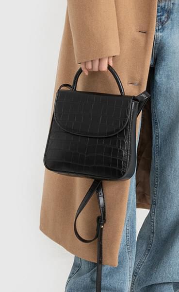Plan Animal Pattern Two-way Tote Bag
