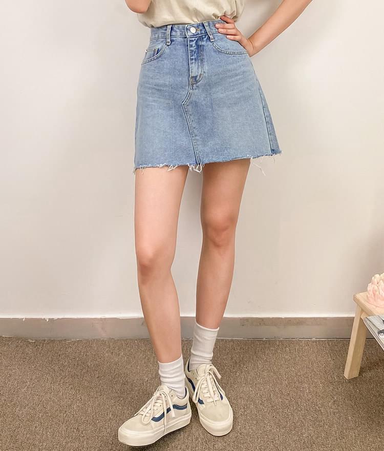 313 Daily Denim Skirt