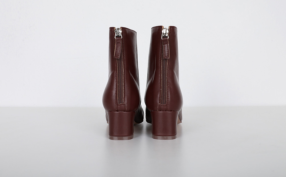 Dover middle heel ankle boots