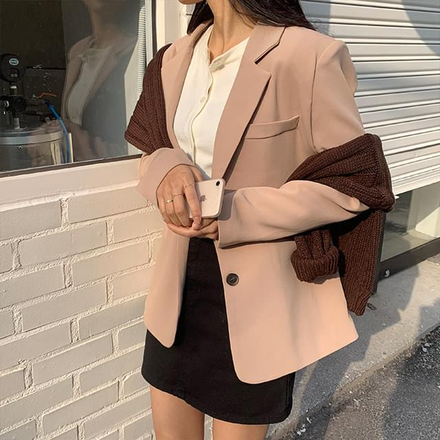 Ria two-button jacket