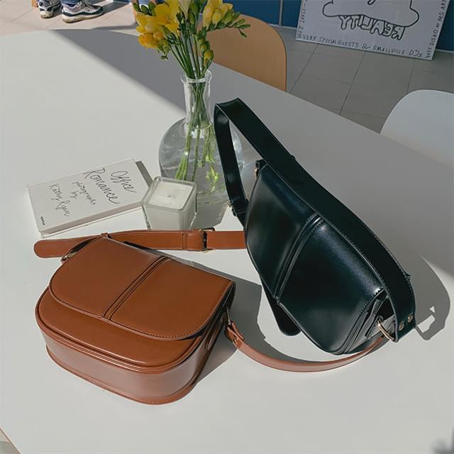 Radon leather cross bag