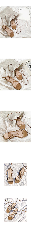 Long scrap shoes