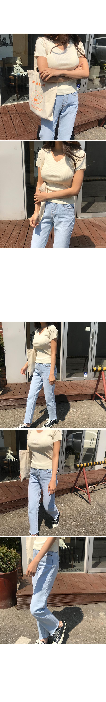 Zeke slim straight jeans