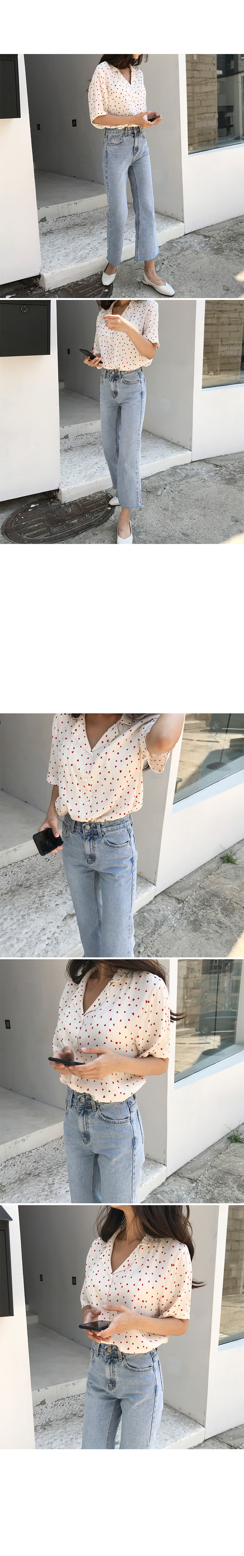 Heaven collar blouse