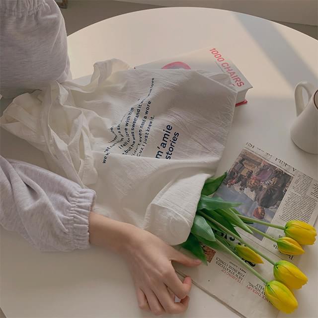 Seller Lettering Eco Bag