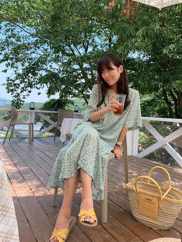Marmalade♥. Flare Line Mint Dress
