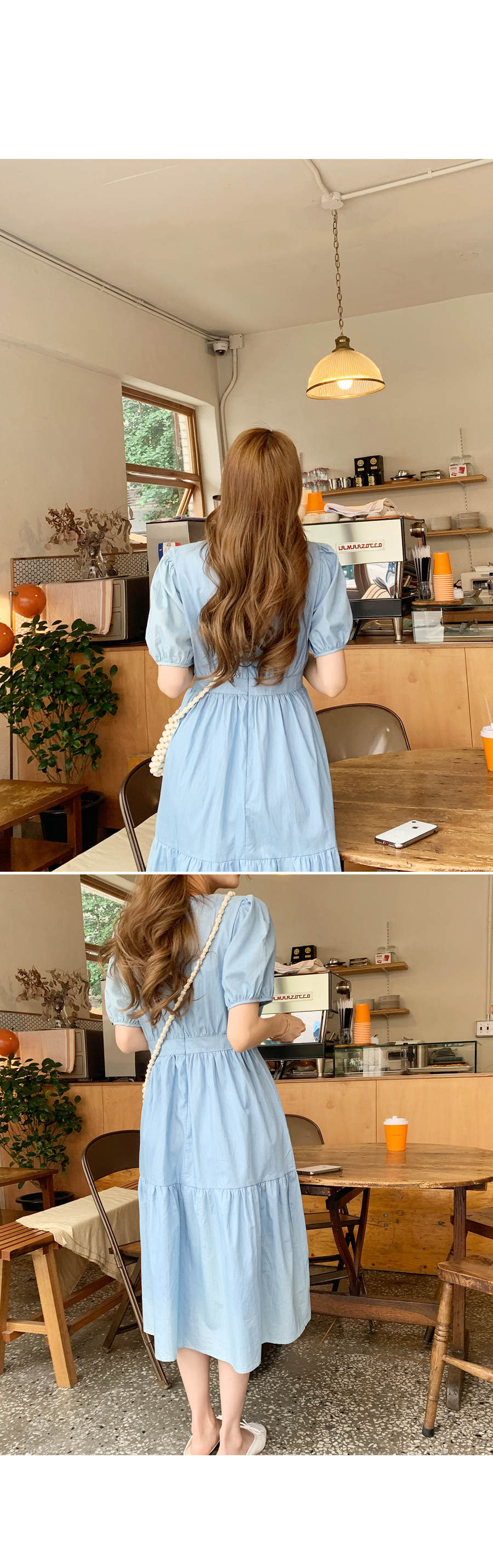 Denim in love cancan dress