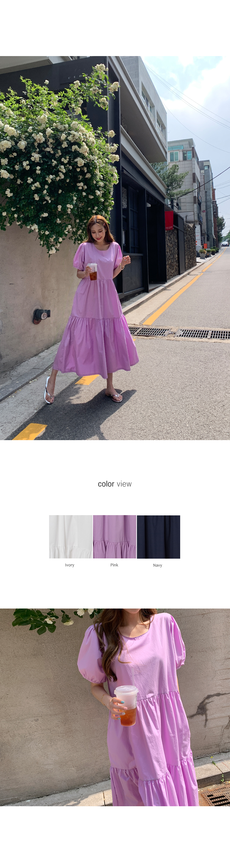 Comfortable and pretty cancan dress