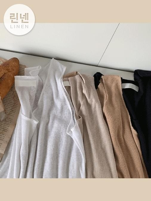 Linen Natural Round Nashi T-Shirt