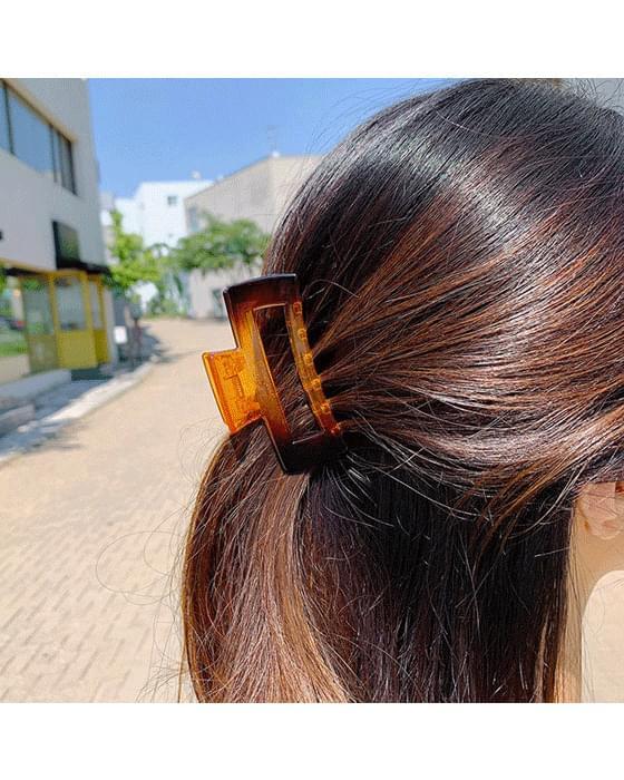 Square hair clip-2color
