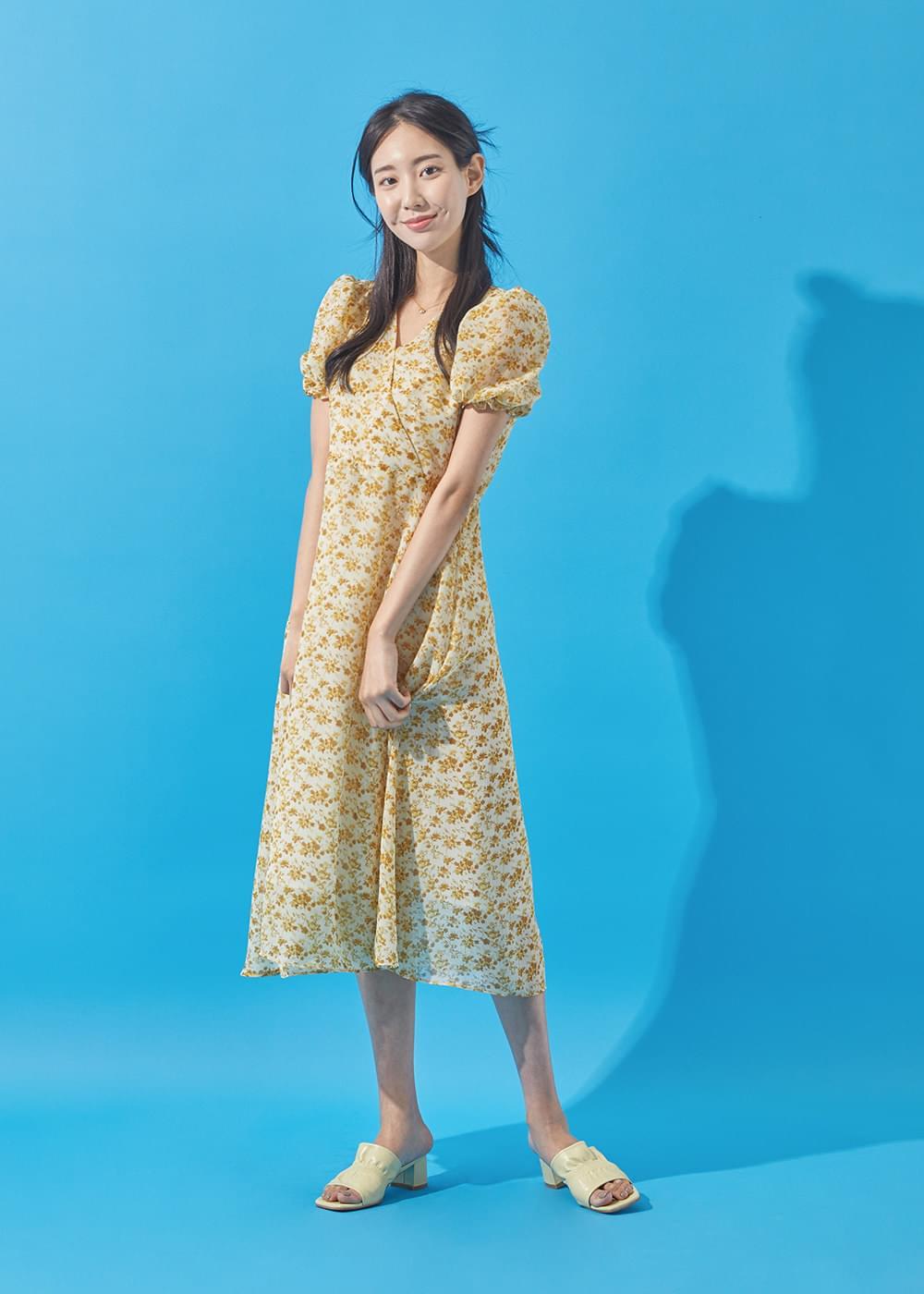 Mummer Flower Dress
