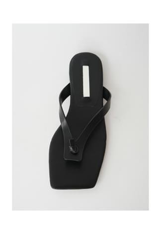 knot square flip-flop