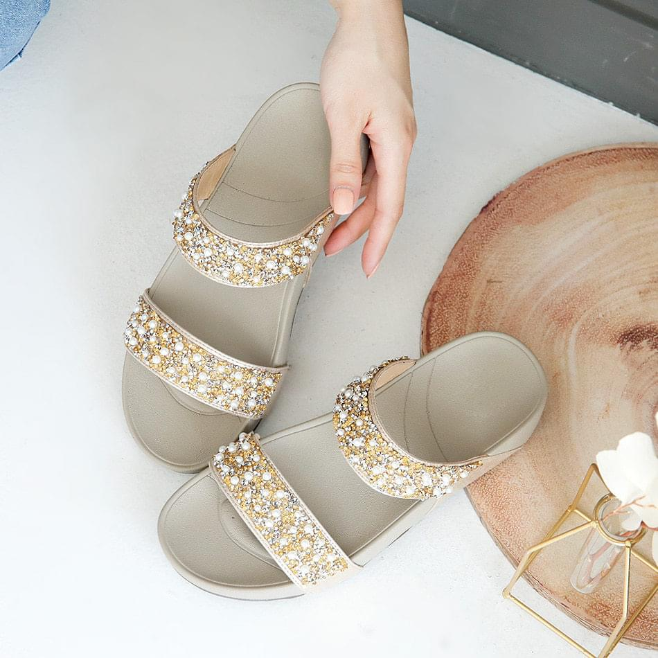 Half Heel Slippers 4cm