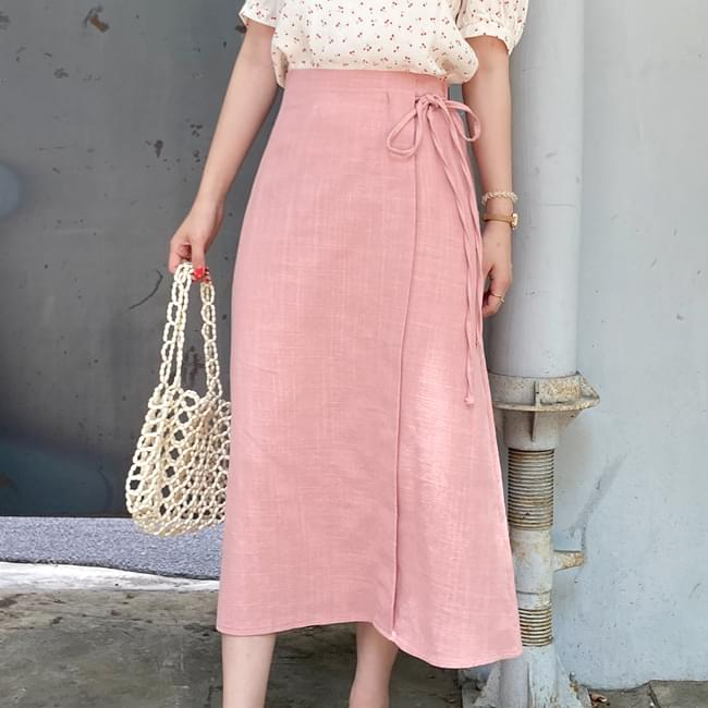Simple Daily Look Long Skirt