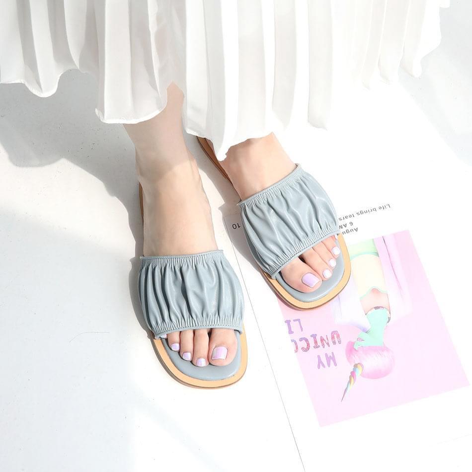 Uet Shirring Slippers 1cm