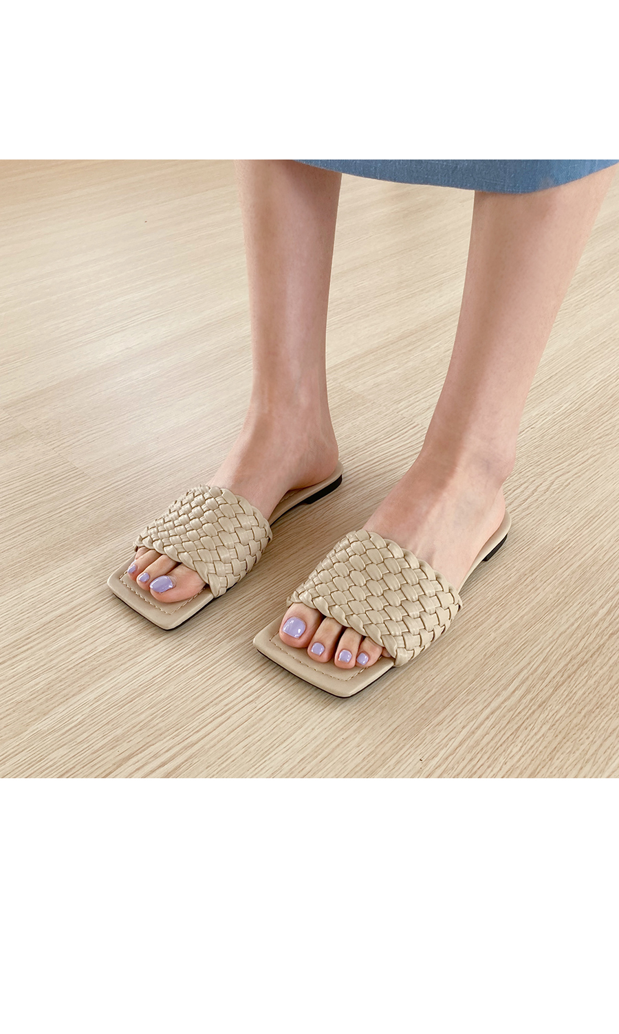 Boter twisted slippers