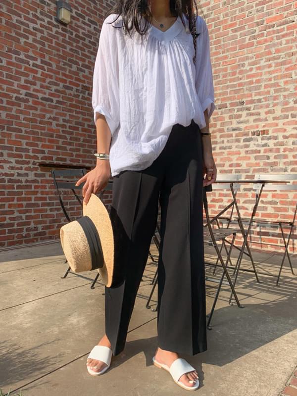 GENTLE SLACKS/ver.Summer legging wide