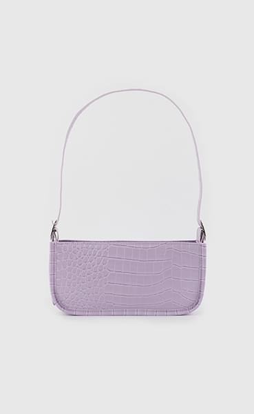 Palette animal pattern saddle shoulder bag