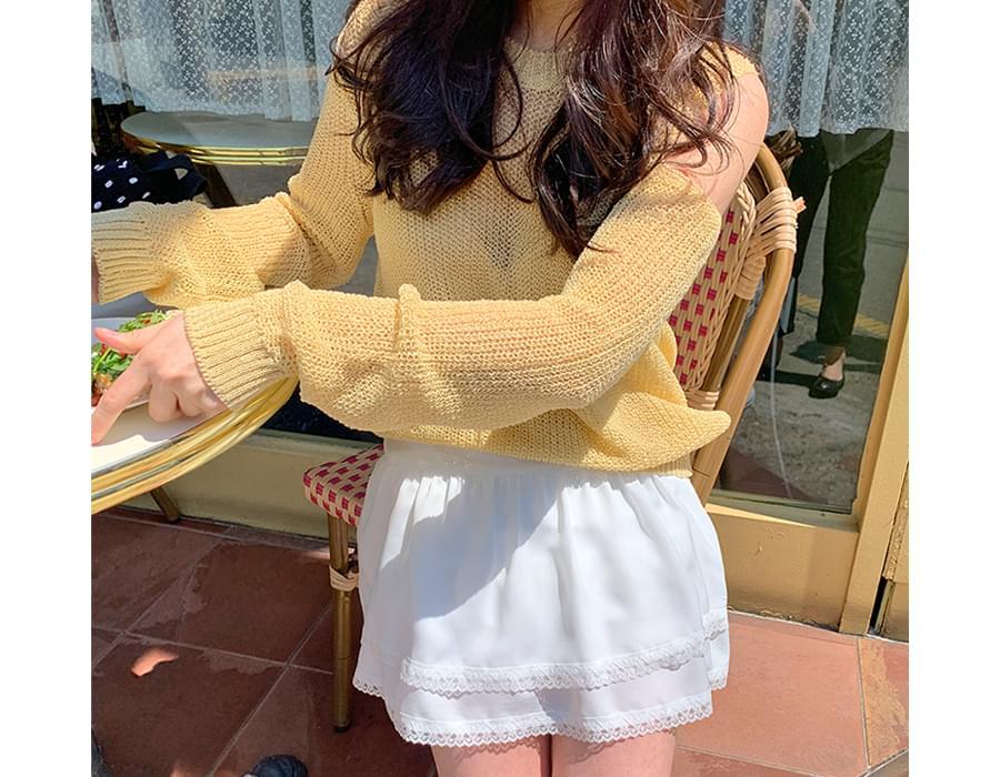 Pure Race Cancan Mini Skirt
