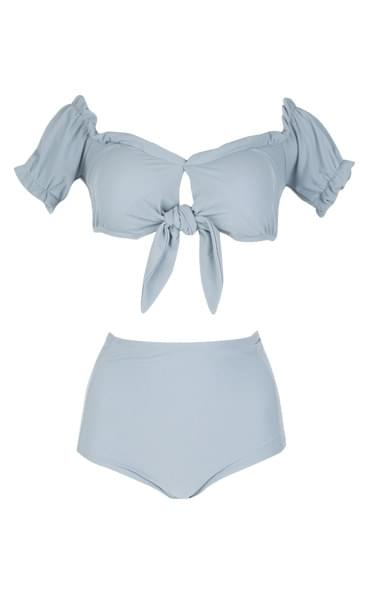 Pastel strap bikini