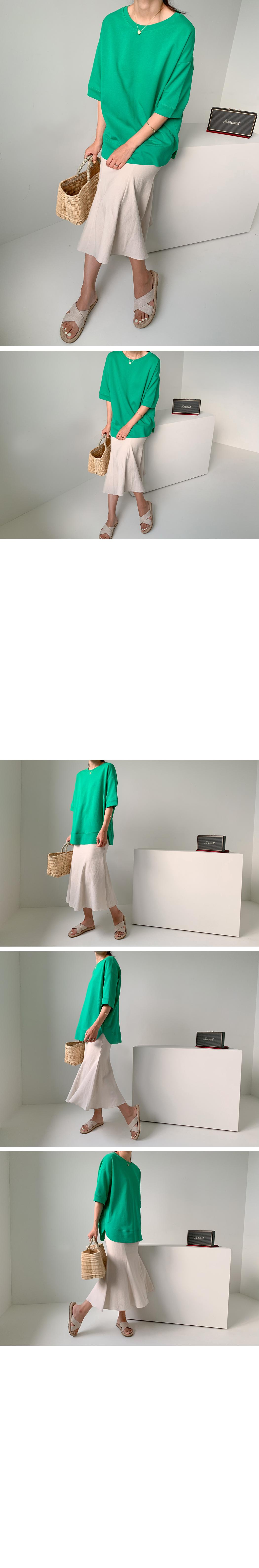 Linen Mermaid Skirt