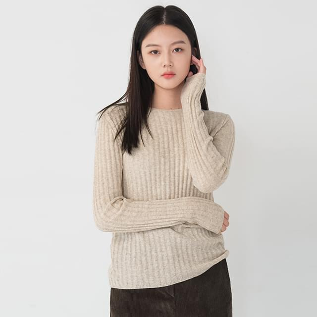 Daily Slim Fit Ribbed Knitwear